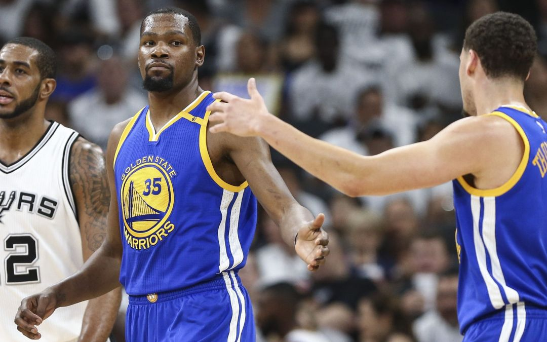 Kevin Durant's scoring 'clinic' keys another Warriors rout in Game 3