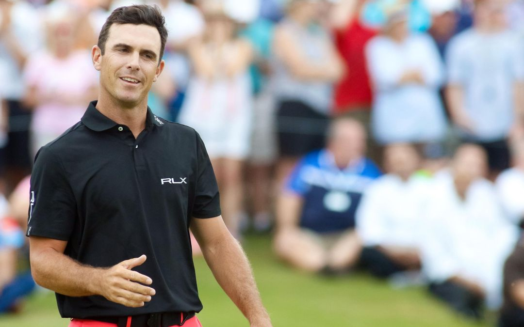 Billy Horschel discusses his wife's struggle with alcoholism