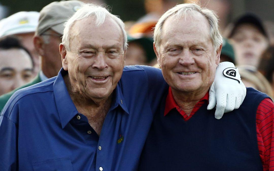 Nick Faldo recalls memory of pals, rivals Arnold Palmer, Jack Nicklaus