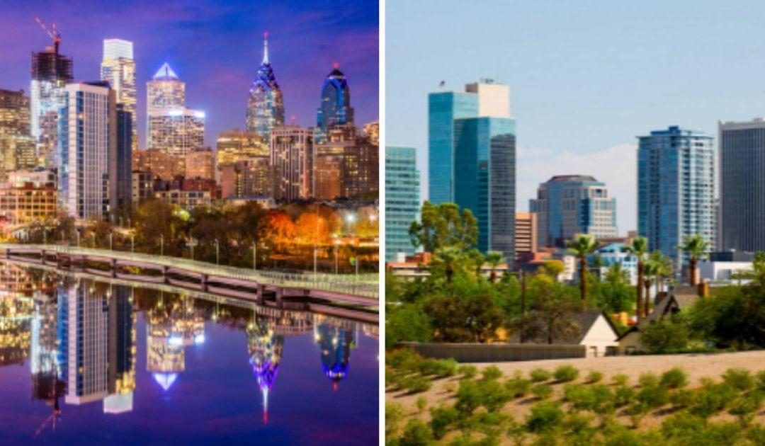 Philadelphia upset that Phoenix is 5th largest city