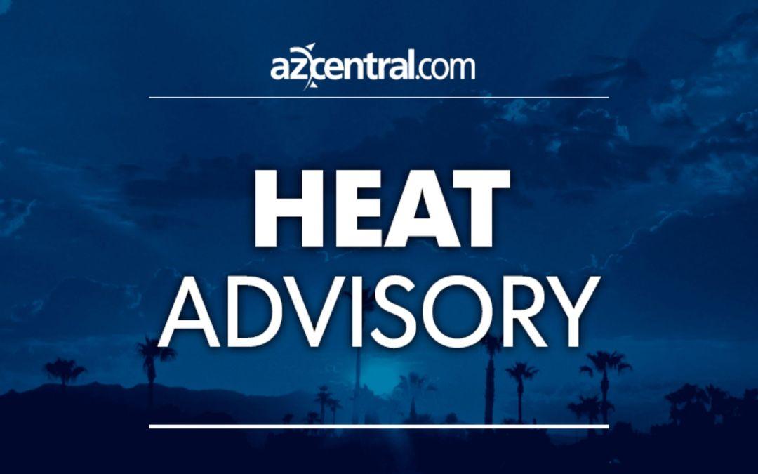 Excessive heat warning in metro Phoenix through mid-week