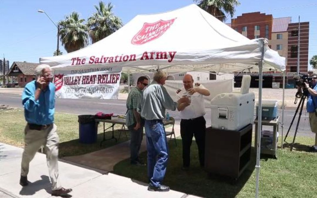 Salvation Army provides heat relief in Phoenix-area