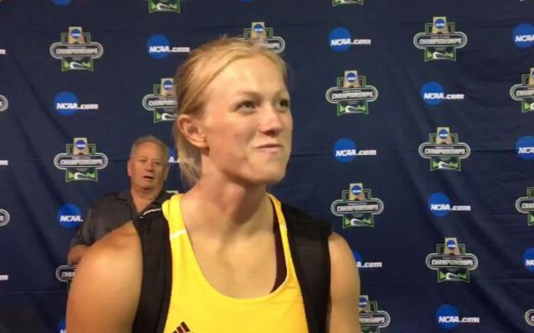 ASU's Maggie Ewen on her record-setting throw