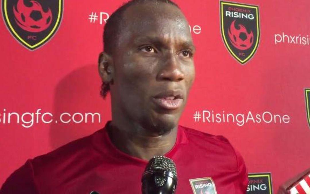 Didier Drogba talks Phoenix Rising debut