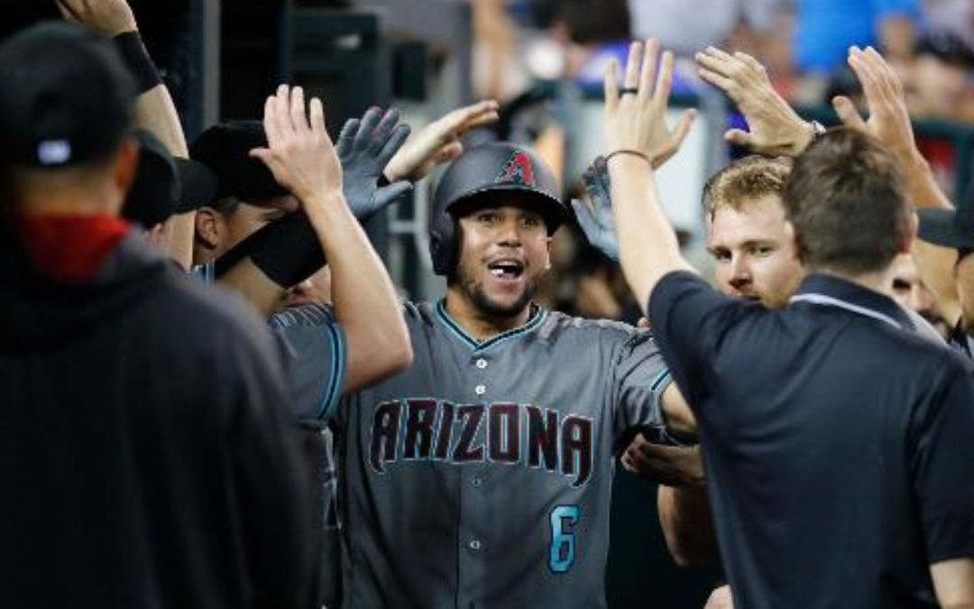 David Peralta on his go-ahead homer in win over Tigers