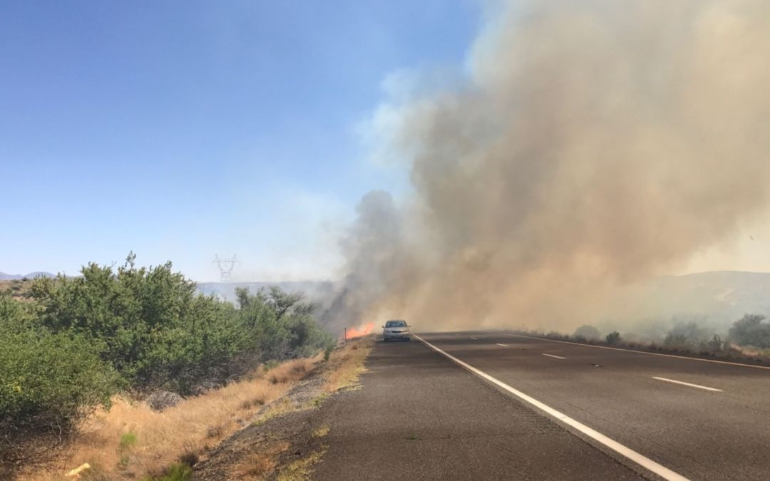 Lightning sparks Boundary Fire outside Flagstaff