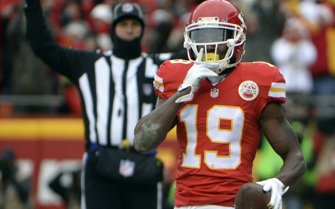 Chiefs release WR Jeremy Maclin in midst of voluntary workouts