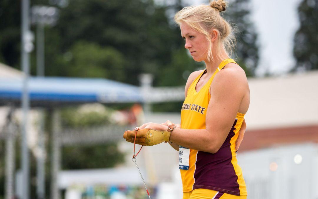 Maggie Ewen is latest in line of elite ASU throwers