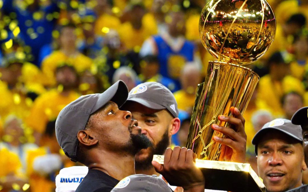 Kevin Durant finds joy, camaraderie in Warriors' championship run