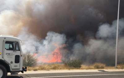 I-17 reopens after brush fire forces closure in north Phoenix