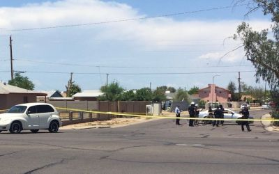 Bicyclist hit by vehicle in Phoenix, suffers life-threatening injuries