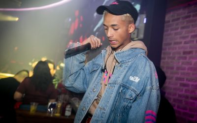Jaden Smith at Scottsdale's Maya Day and Nightclub