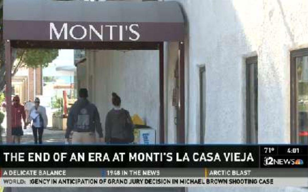 Monti's La Casa Vieja in Tempe closes its doors