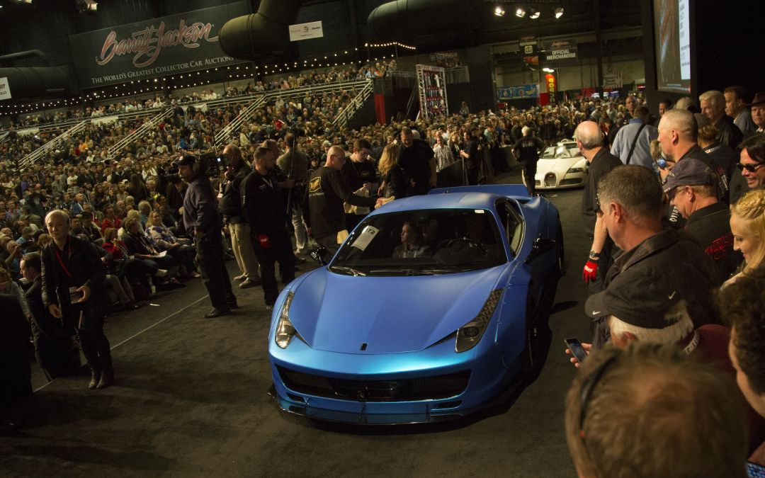 2018 Barrett-Jackson Collector Car Auction highlights in Scottsdale ...