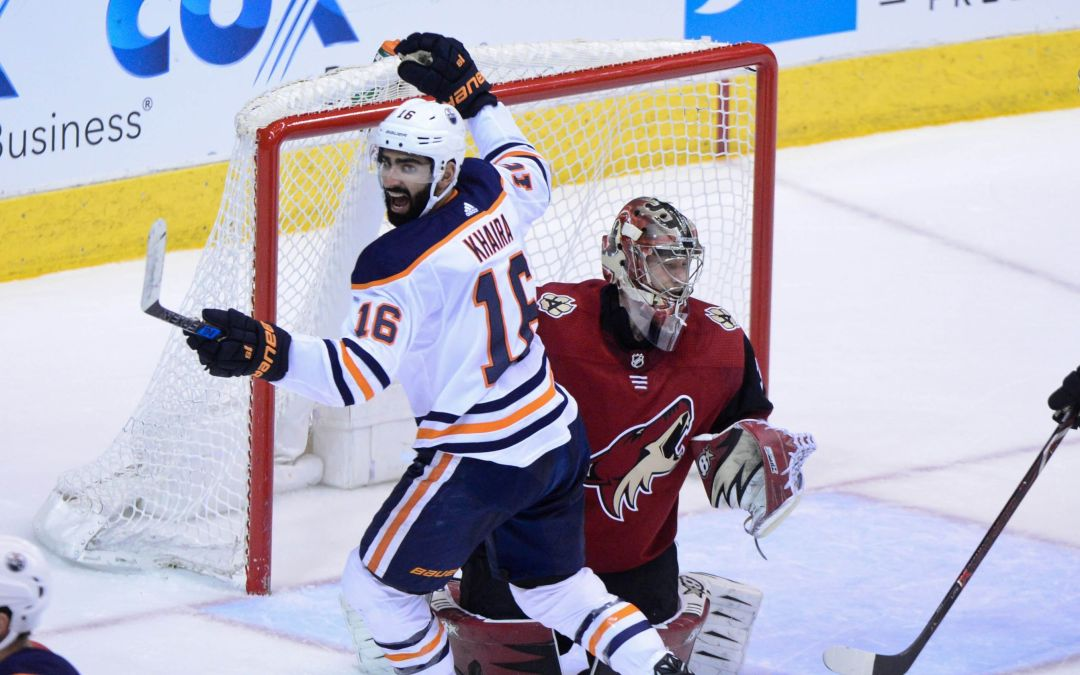 Edmonton Oilers charge back with four unanswered goals to topple Arizona Coyotes