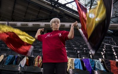 Flag Lady nearing return from injury