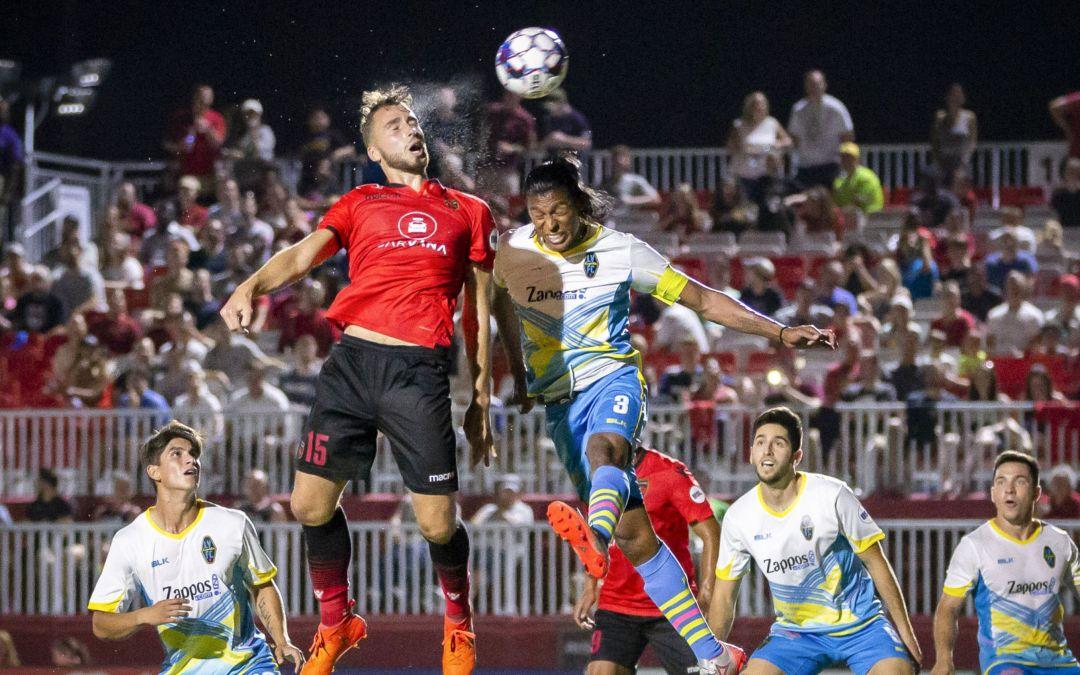 Phoenix Rising FC rout Las Vegas Lights FC after head coach's exit