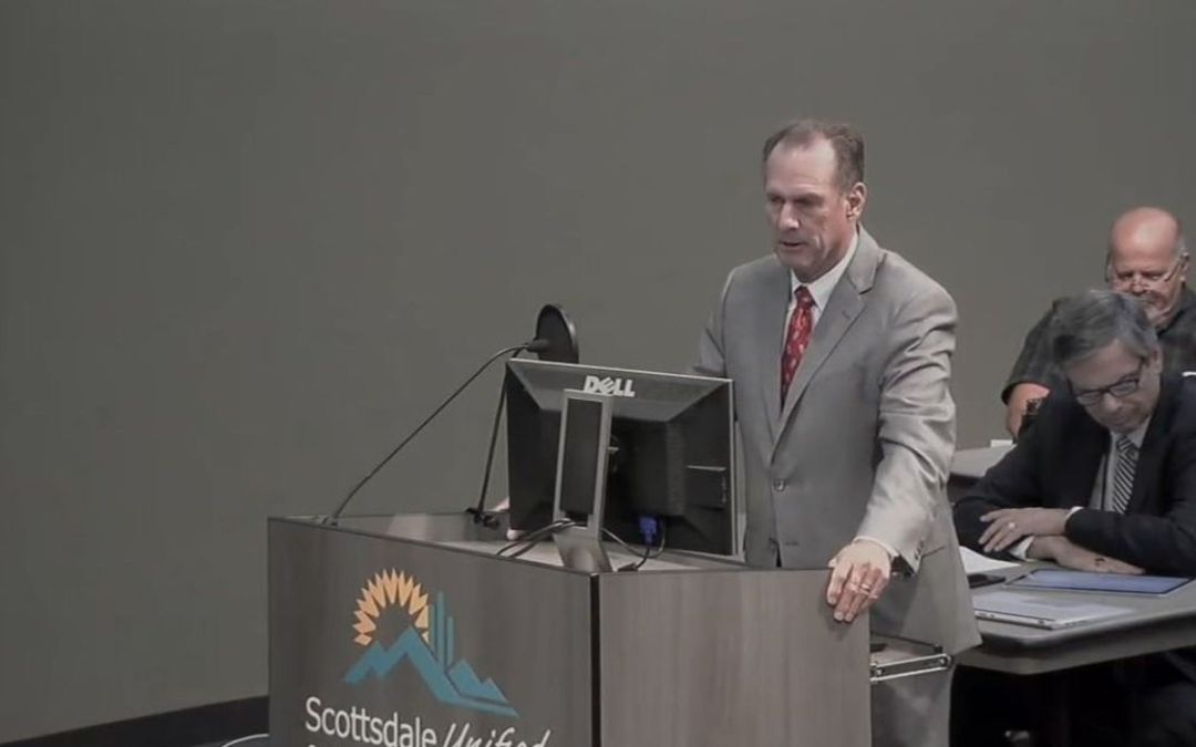 Who is leading Scottsdale schools post school renovation controversy