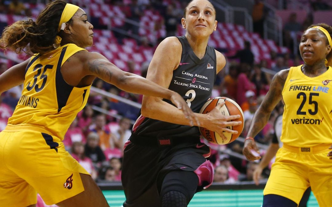 Mercury blow out Indiana to snap five-game home losing streak