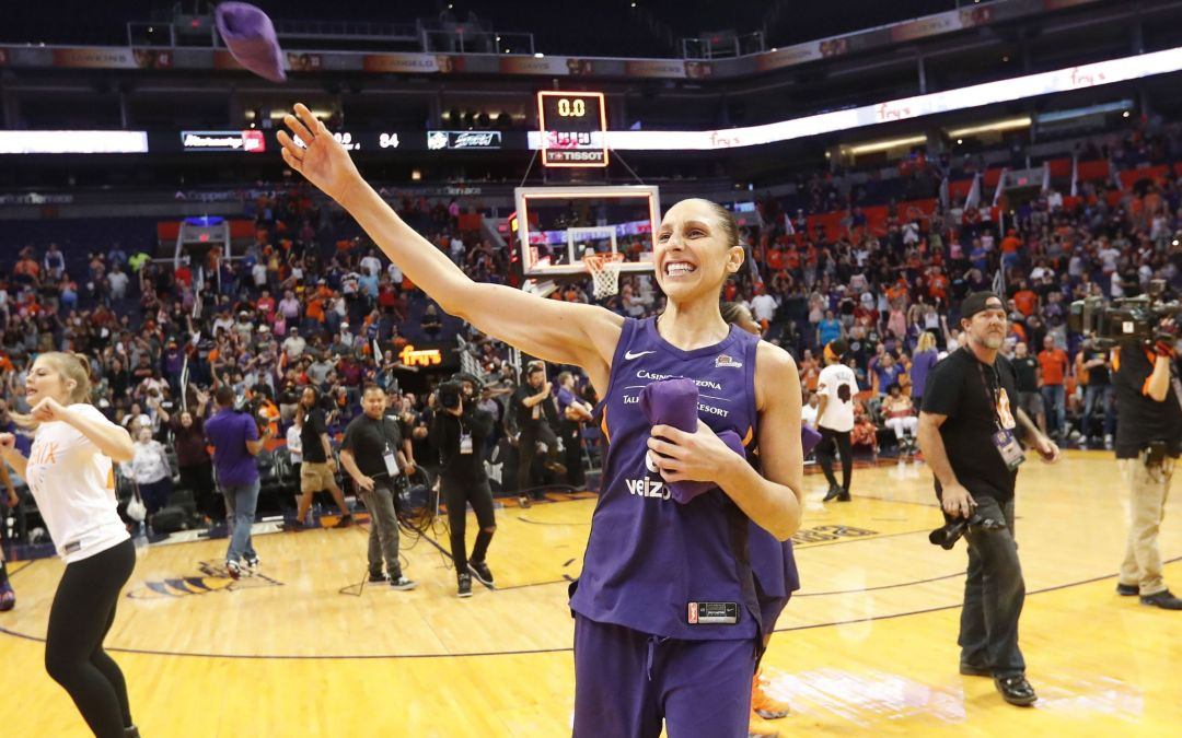 Phoenix Mercury's Diana Taurasi receives All-WNBA honors for record 13th time