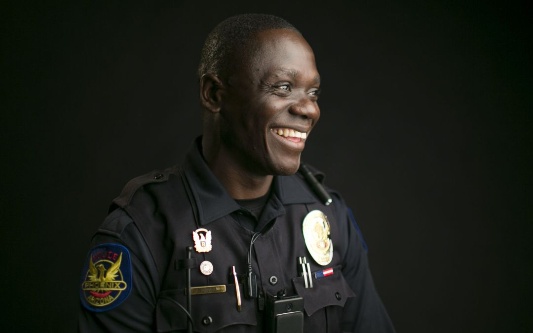 Once a refugee, Phoenix police officer breaks down immigration stigma