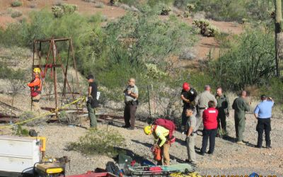 Friend found man trapped in Arizona mine shaft for two days