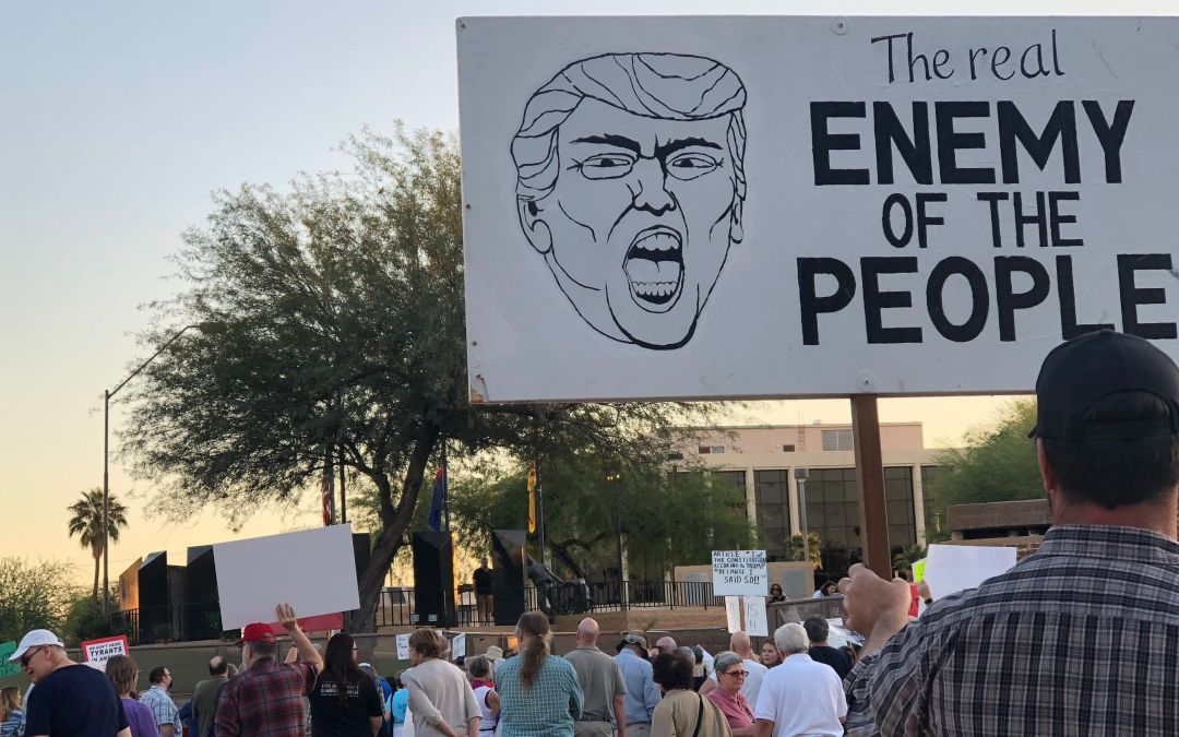Arizonans join nation-wide rally supporting Robert Mueller probe