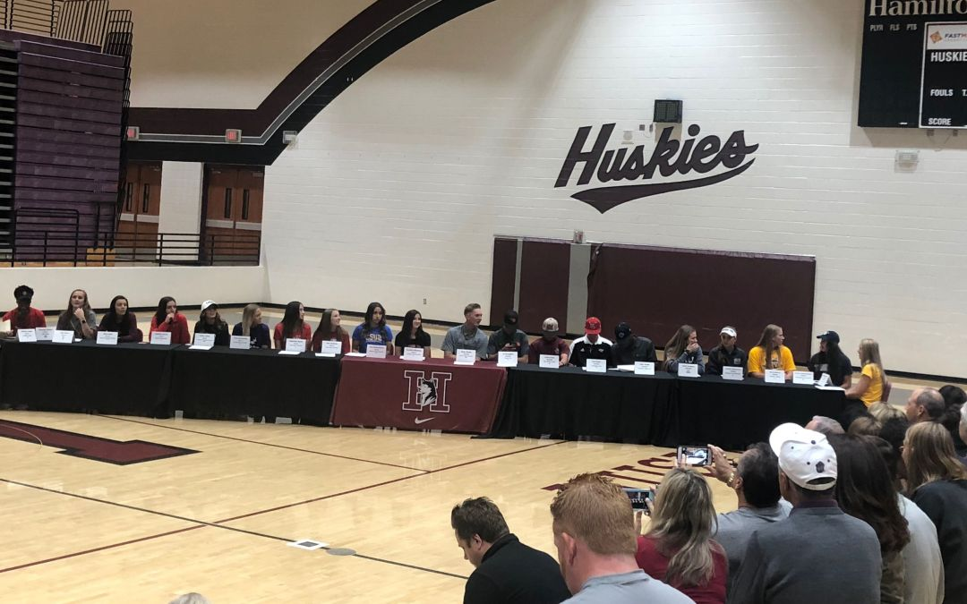 List of Arizona high school athletes signing letters of intent 2018