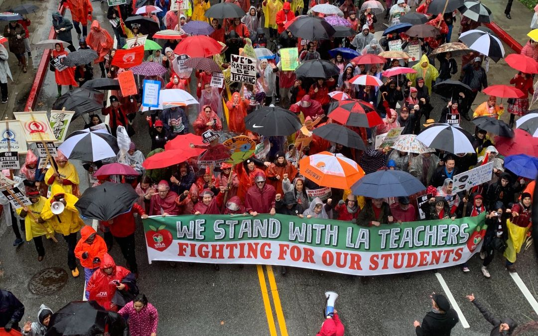 LAUSD strike ends with teachers returning Wednesday