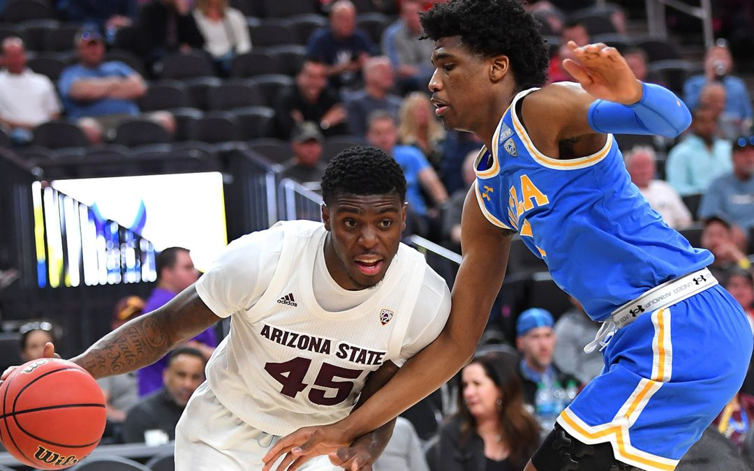 ASU uses late first half explosion in beating UCLA at Pac-12 tournament