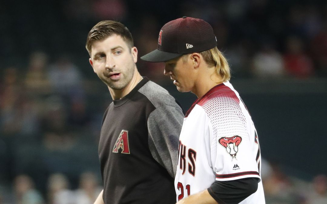 Zack Greinke MRI comes up clean, will throw bullpen Saturday