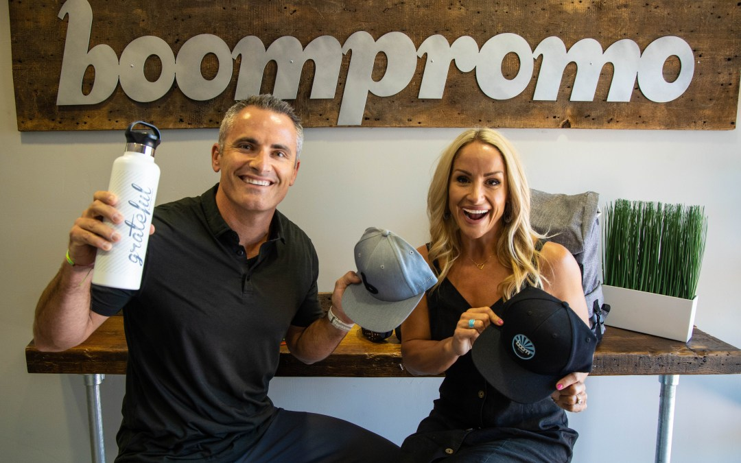 Boompromo provides the swag and the bag
