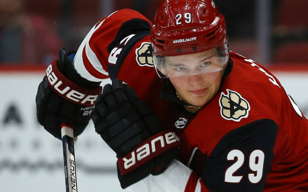 Arizona Coyotes' Barrett Hayton may make NHL debut vs. Golden Knights