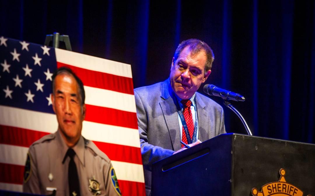 Fallen MCSO detention Officer Gene 'Jim' Lee honored at Phoenix ceremony