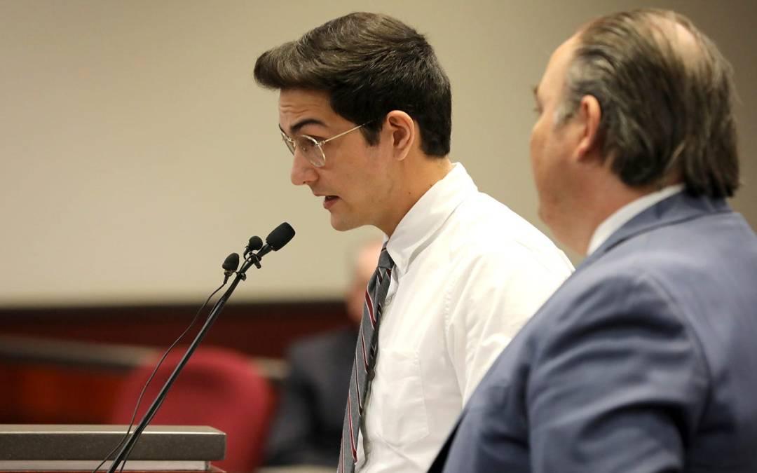 Steven Jones headed to jail to await sentencing in fatal NAU shooting
