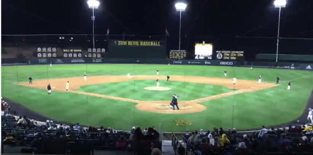 No. 8 ASU baseball clinches Boston College series