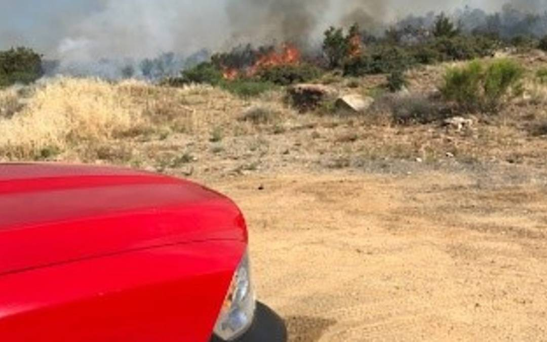 5 juveniles suspected of starting Park Fire in Bagdad