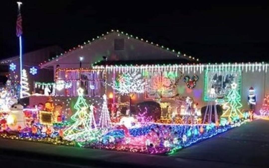 Phoenix holiday lights map 2020 | Integrity Garage Doors of Phoenix