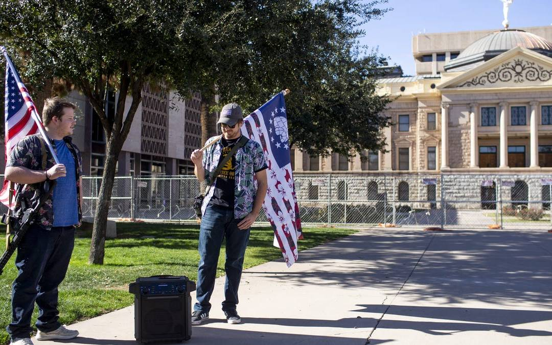 The weekend found an uneasy calm at Arizona's state capitol