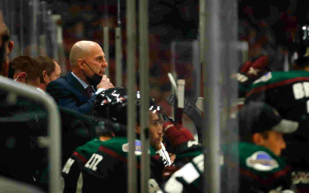 Coyotes coach Rick Tocchet, 1-16-21