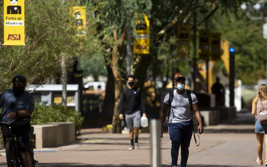 Arizona universities start terms with COVID-19 rates lower than state