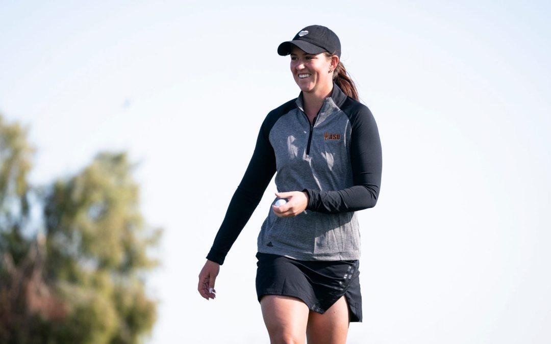 Linn Grant wins third consecutive title, leading ASU golf to Bruin Wave crown