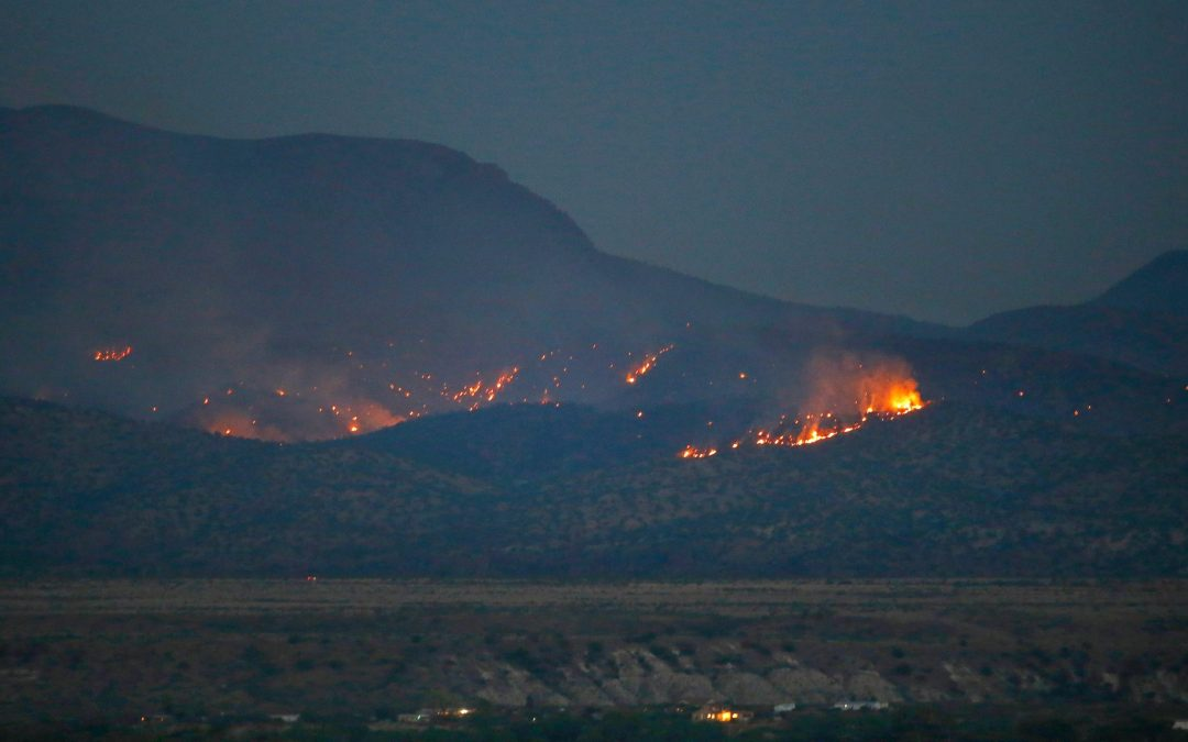 While rain may help Arizona wildfire conditions, lightning could hurt
