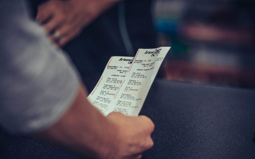 Winning Mega Millions lottery ticket sold at Gilbert gas station