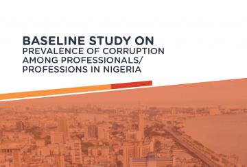 Baseline Study Report on Corruption Perception Among Professionals