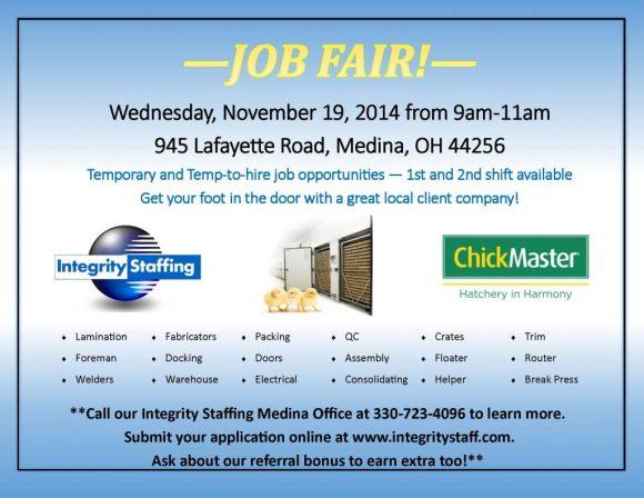 Job Fair at Chick Master