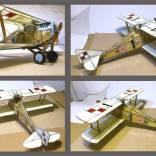 5-13 Szklany Ansaldo Ballila z 7 eskadry