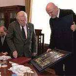 Witraż dla Prezydenta Lecha Wałęsy