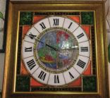 5-7 Zegar średniowieczny motyw 4 pory roku