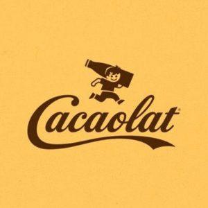 septimo logotipo marca cacaolat